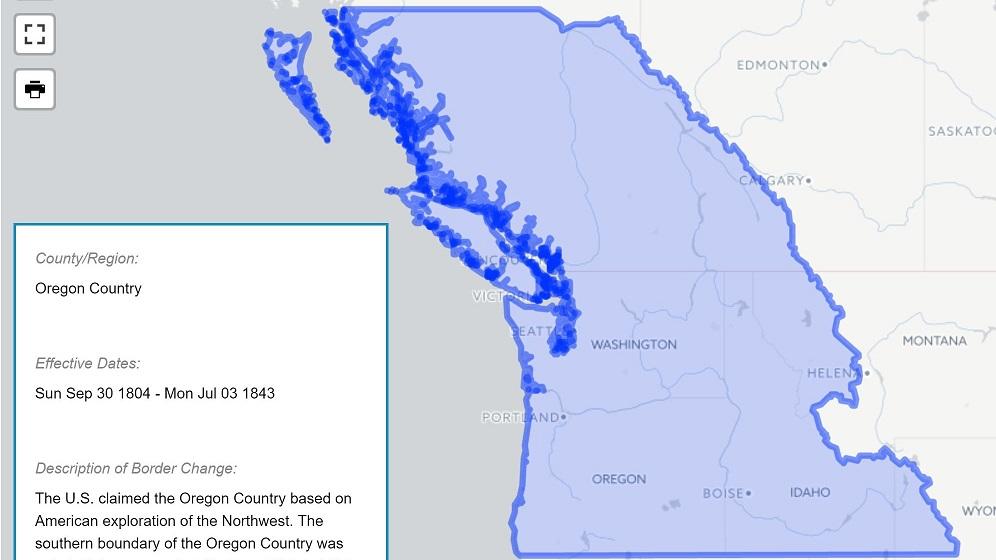 Credits | Oregon Historical Atlas